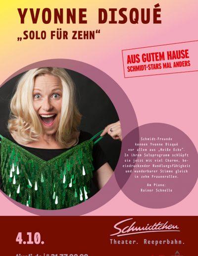 Plakat Solo für Zehn JPEG